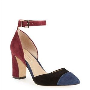 BCBGMaxAzria Billie Color Block Heels